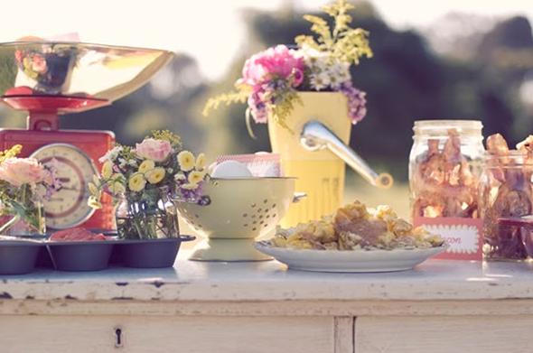 Vintage Breakfast Inspired Shoot