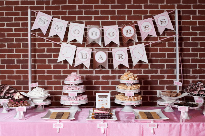 Custom Gourmet Marshmallow Dessert Stations